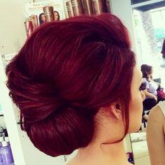 Red Burgundy Hair Color
