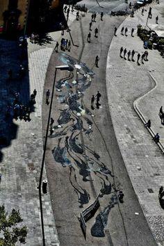 "Herbert Baglione art | Herbert Baglione, ""1000 Shadows"", Nuart Festival ... | art & illustra ..."