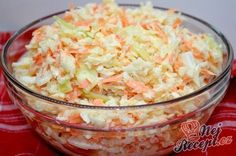 Super tasty white cabbage and carrot salad like from the restaurant Top-Rezepte.de - Super tasty white cabbage and carrot salad like from the restaurant - Pizza Recipes, Grilling Recipes, Beef Recipes, Salad Recipes, Vegan Recipes, Cooking Recipes, Carrot Recipes, Snacks Recipes, Feta