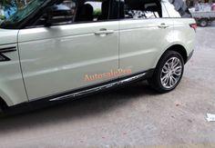 For Land Rover Range Rover Sport 2014-2016 4pcs Steel Side door Body bottom Molding Cover Trim