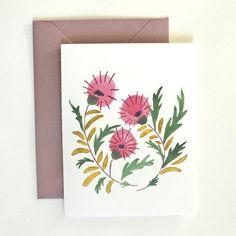 Thistle Card Set