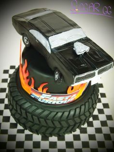 Fast And Furious Party, Fast And Furious Birthday, 9th Birthday Parties, 8th Birthday, Birthday Cake, Sweet 16 For Boys, Sweet 16 Parties, Cake Toppers, First Birthdays