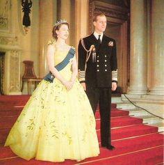 classicroyalrarepics: Queen Elizabeth and Prince Philip