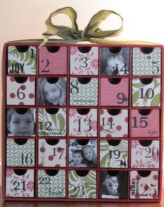 pictures of advent calendars | still love it, and will likely keep it forever. My kids were so tiny ...