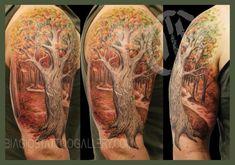 03 Family Tree Sleeve Tattoo