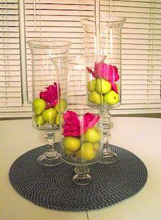DYI Dollar Tree Hurricane Vases & Candlesticks = Brilliant!