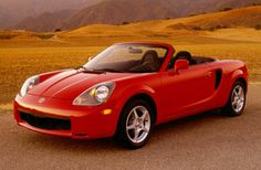 Toyota MR2 Spyder: the last of the era of cheap mid engined cars