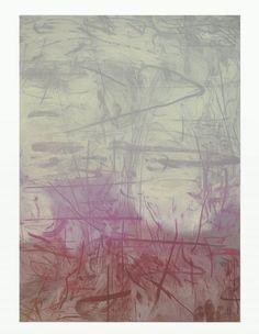Raul Illarramendi EA n°106, 2012 Crayon sur gouache sur toile 55 x 39 inches