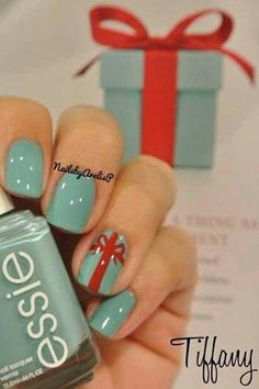 15 Holiday Nail Art Ideas from Pinterest - Daily Makeover @Danielle Lampert Lampert Lampert Shaffer