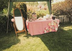 apple orchard weddings, porta potty stations, coffee filter flowers, pink and gold weddings Wedding Welcome Baskets, Wedding Bathroom, Wedding Signs, Wedding Ideas, Wedding Stuff, Coffee Filter Flowers, Pink And Gold Wedding, Outdoor Bathrooms, Wedding Photo Props