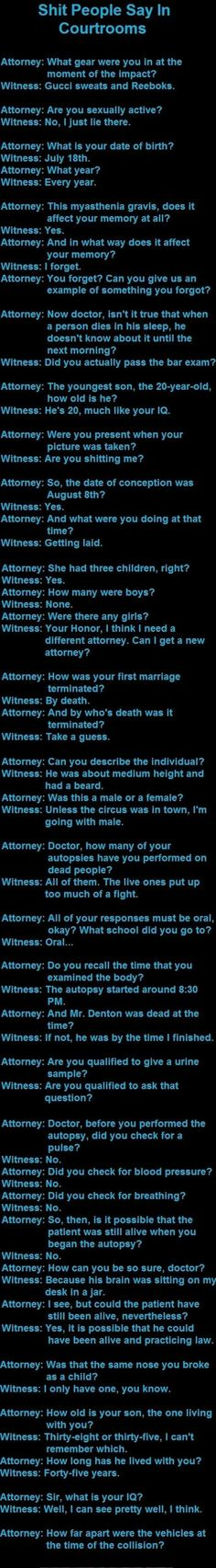 The most retarded questions asked by attorneys  - Imgur