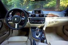 2014 BMW 4 Series front interior