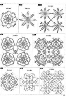 It's simple, free and blazing fast! Crochet Snowflake Pattern, Crochet Motif Patterns, Crochet Snowflakes, Crochet Squares, Crochet Designs, Craft Tutorials, Crochet Flowers, Doilies, Knit Crochet