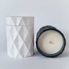 What is yin without yang, what is salt without pepper...our matte black geometric candle now has a partner in crime!  Welcome to the family lovely matte white geometric soy candle! Available on our website. Stockists welcome! #INCAcandles  www.inca101.com.au