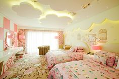 Hello Kitty Room at the Lotte Hotel in Jeju