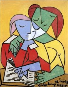 Women reading - Pablo Picasso