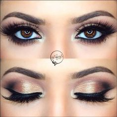 The Best Wedding Makeup Ideas For Brides, Bridesmaids, And The Entire Bridal Party. We Cover Make Up Ideas For Blondes, For Brunettes, For Long Hair, Medium Length Hair And Short Hair. We Cover Natural And Vintage Looks And How To Give A Bride Or Bridesma