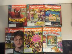 Lot of 6 Assorted Nickelodeon Magazine Back Issues from 2004 Kids Choice Rugrats | eBay