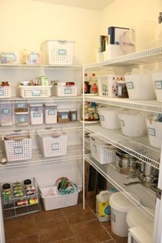 Pantry Organization | June 2017 | The Gold Project