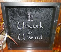 13x13 Wine Cork Holder Shadow Box, Uncork & Unwind, (or) Custom Wedding, Valentines Day Gift on Etsy, $45.00