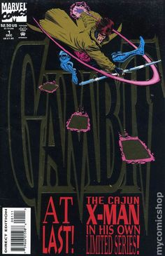 Gambit (1993 1st Series Marvel) 1A