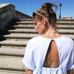 Souvenir d'une journée inoubliable à Montpellier et d'un look que j'adore…