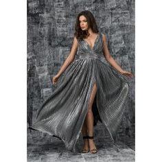 Rochie de seara cu pliseuri pe bust cu un look romantic, o rochie fluida, eleganta, cu talia marcata. O rochie senzuala pentru un eveniment special. Prom Dresses, Formal Dresses, Romantic, Elegant, Luxury, Fashion, Dresses For Formal, Classy, Moda