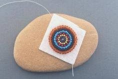Information on the materials you need to get started with bead embroidery including foundation material, lining, backing, needles, thread and beads.: Bead Embroidery Materials