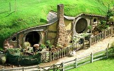 Bilbo Baggins' beautiful home in Hamilton, New Zealand. HOLY BALLS!