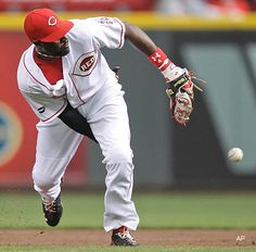 Brandon Phillips one of my Favorite Reds players to watch at spring training!