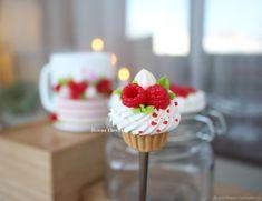 Баночка с декором Малиновый торт – купить в интернет-магазине на Ярмарке Мастеров с доставкой - F7XI5RU