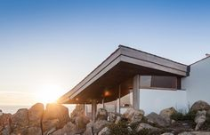 Siza Vieira restores the iconic Boa Nova tea house in Portugal http://bocadolobo.com/blog/architecture/siza-vieira-restores-the-iconic-boa-nova-tea-house-in-portugal/