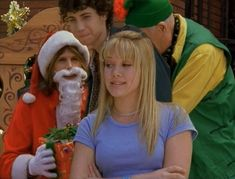 When she learned that Santa was really just Steven Tyler. | The 22 Most Memorable Things That Happened To Lizzie McGuire