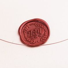 Personalized Wax Seal Stamp/save the date stamp/ by Bielyse