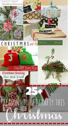 25+ Reasons to Get Crafty This Christmas {Must Pin Projects}