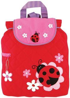 Stephen Joseph Quilted Backpack - Ladybug