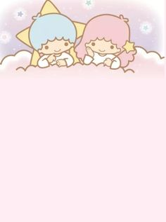 Little Twin Stars ☆ Wallpaper Wallpaper Kawaii, Sanrio Wallpaper, Star Wallpaper, Kitty Wallpaper, Little Twin Stars, Sanrio Characters, Cute Characters, Hello Kitty, Sanrio Danshi