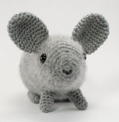 Chinchilla amigurumi CROCHET PATTERN; this is a very well written and easy to understand pattern.  I highly recommend this designer.