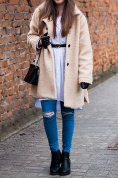 stylizacja jeansy topshop jamie z dziurami