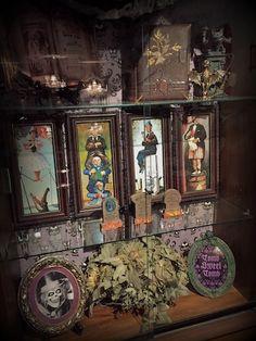 Halloween Decorated Mansion