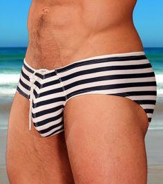 'Ahoy' print drawstring swimwear by Cocksox®  http://www.cocksox.com/accessories/boyleg_swim_brief_pr#