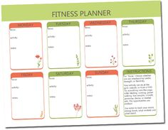 Download our free fitness planner, stick it in your favorite arc or notebook, and KEEP TRACK! And feel proud that you are one step closer to a healthier lifestyle www.craftoflaughter.com