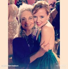 PHOTO: Stef Dawson and Lynn Cohen (or Annie and Mags)