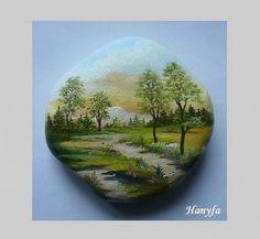 GALERIE Ukázka malovaných kamenů PRODÁNO