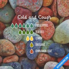 Cold and Cough — Essential Oil Diffuser Blend