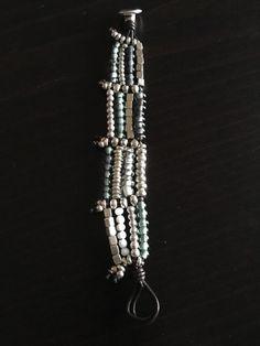 Uno De 50 Multi Strand Beaded Bracelet - Kanication - Gorgeous !! - NWT in Jewellery & Watches, Costume Jewellery, Bracelets | eBay