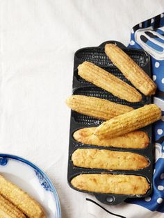Your kids will love noshing on these Pepper-Jack Cornbread Sticks when they get home from school. #snacks