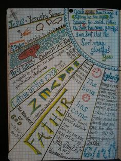 Verse Mapping John Kim Clark Clayton , go to FB Verse Mapping, Bible Bible Study Notebook, Bible Study Tools, Bible Study Journal, Scripture Study, Bible Art, Bible Prayers, Bible Scriptures, Bible Mapping, Bible Doodling
