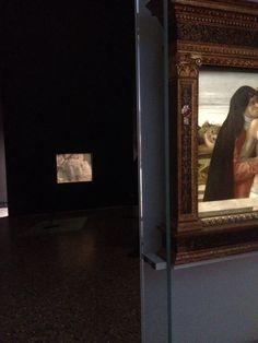 #Brera #olmi Sequenza Pietà/cristo morto #bellini #mantegna #allestimento