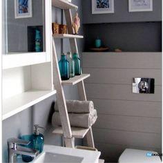 PÓŁKODRABINA STEGE TYP 1/2 inspirowana drabiną. Designerski mebel do twojego domu.